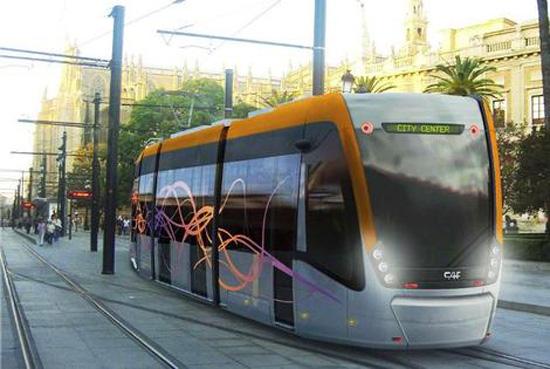 В 2014 году в Таллине появятся новые экологичные трамваи. Фото: postimees.ee .