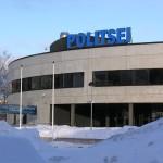 Здание Идаского полицейского участка, обслуживающего Ласнамяэ.  Находится в Таллине по адресу: Vikerlase 14. Фото Виталия Фактулина.