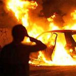 Ночью в Ласнамяэ сгорели два автомобиля.