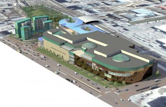 В Ласнамяэ начинается строительство хоккейного холла с тремя полями.