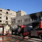 В промышленном здании на улице Суур-Паала в Ласнамяэ произошел пожар