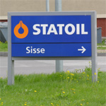 На заправке Statoil в Ласнамяэ произошел пожар. Фото Виталия Фактулина.