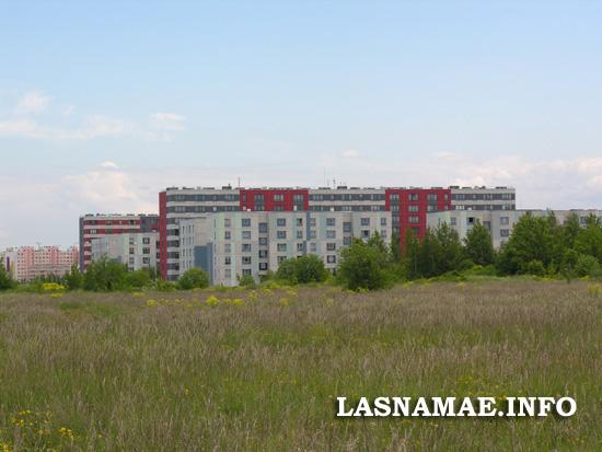 Вид на муниципальный район Меелику со стороны Паэвялья. Фото Виталия Фактулина.
