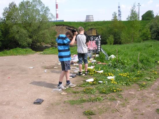 Фото Виталия Фактулина. Фотография сделана лесу, рядом с Ласнамяэ, в мае 2010 года.