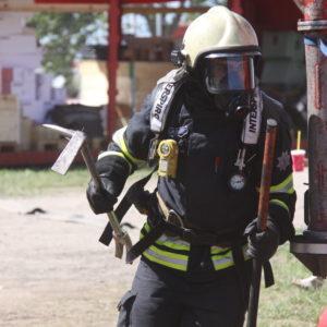 Пожарный. Иллюстративное фото: rescue.ee.