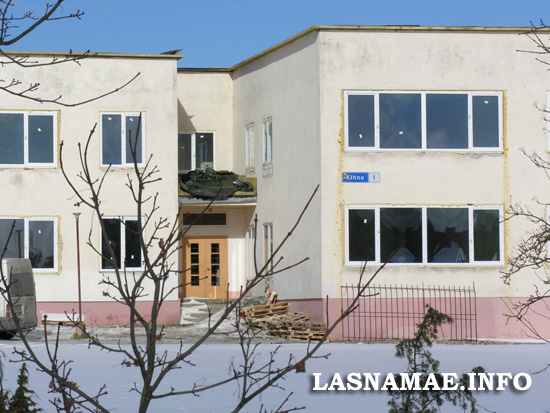 Детский сад в Ласнамяэ по адресу ул. Кихну, 1. Фото Виталия Фактулина.