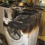 В ласнамяэской квартире загорелась стиральная машина. Иллюстративное фото.