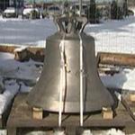 В Ласнамяэ освятили колокола звонницы строящейся православной церкви. Фото: err.ee .