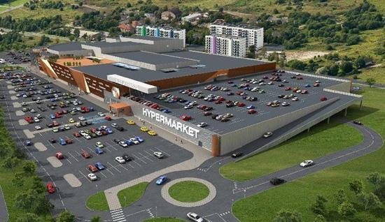 Макет торгового центра Panorama City. фото: Сайт ELL Real Estate