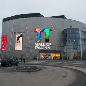 Таллинский торговый цент T1.  Автор фото: Виталий Фактулин.
