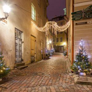 Старый город зимой. Фото: pixabay.com.