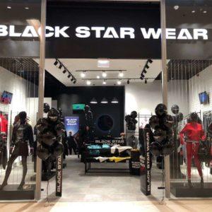 """Магазин """"Black Star Wear"""" в торговом центре """"T1 Mall of Tallinn"""". Фото: promo."""